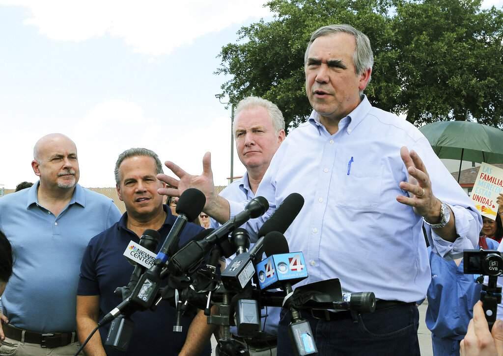 US Sen. Jeff Merkley (Joel Martinez/The Monitor via AP)