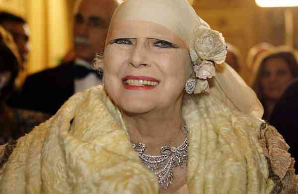 2007 file photo: Valentina Cortese at the Milan La Scala opera house. (AP Photo/Luca Bruno)