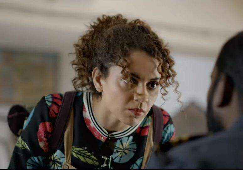 Kangana Ranaut in Judgemental Hai Kya