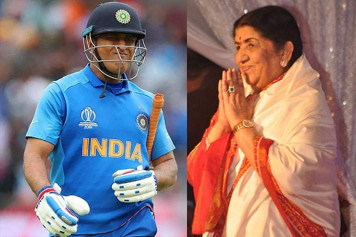 'Please don't think this way': Lata Mangeshkar requests Dhoni to not retire