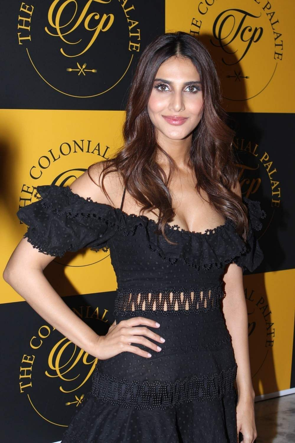 Actress Vaani Kapoor at the launch of a restaurant in Mumbai, on July 13, 2019. (Photo: IANS)