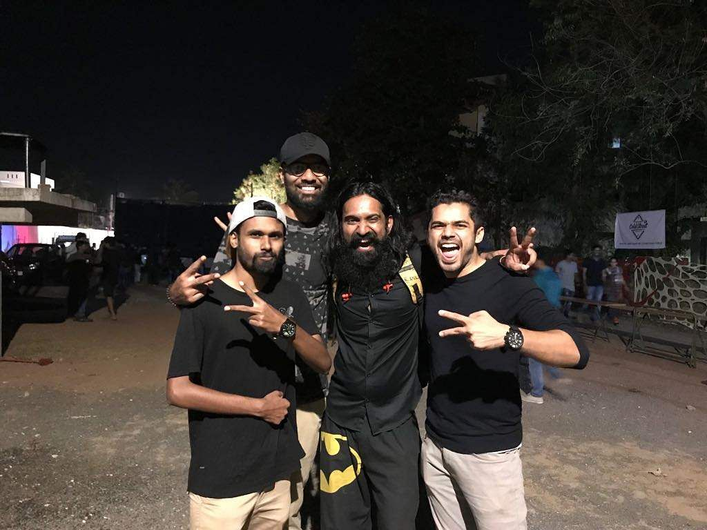 Shame On Bangalore Malayalam Hip-Hop Act Street Academics Is Booed Off Stage-6090