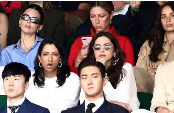 Deepika Padukone, Anisha Padukone attend Wimbledon final, pictures go viral