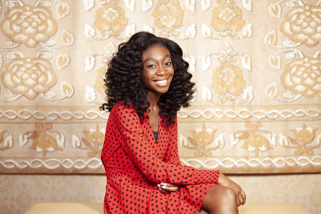 This July 10, 2019 photo shows Shahadi Wright Joseph posing for a portrait at the Montage Hotel in Beverly Hills, Calif., to promote the film The Lion King. (Photo by Rebecca Cabage/Invision/AP)