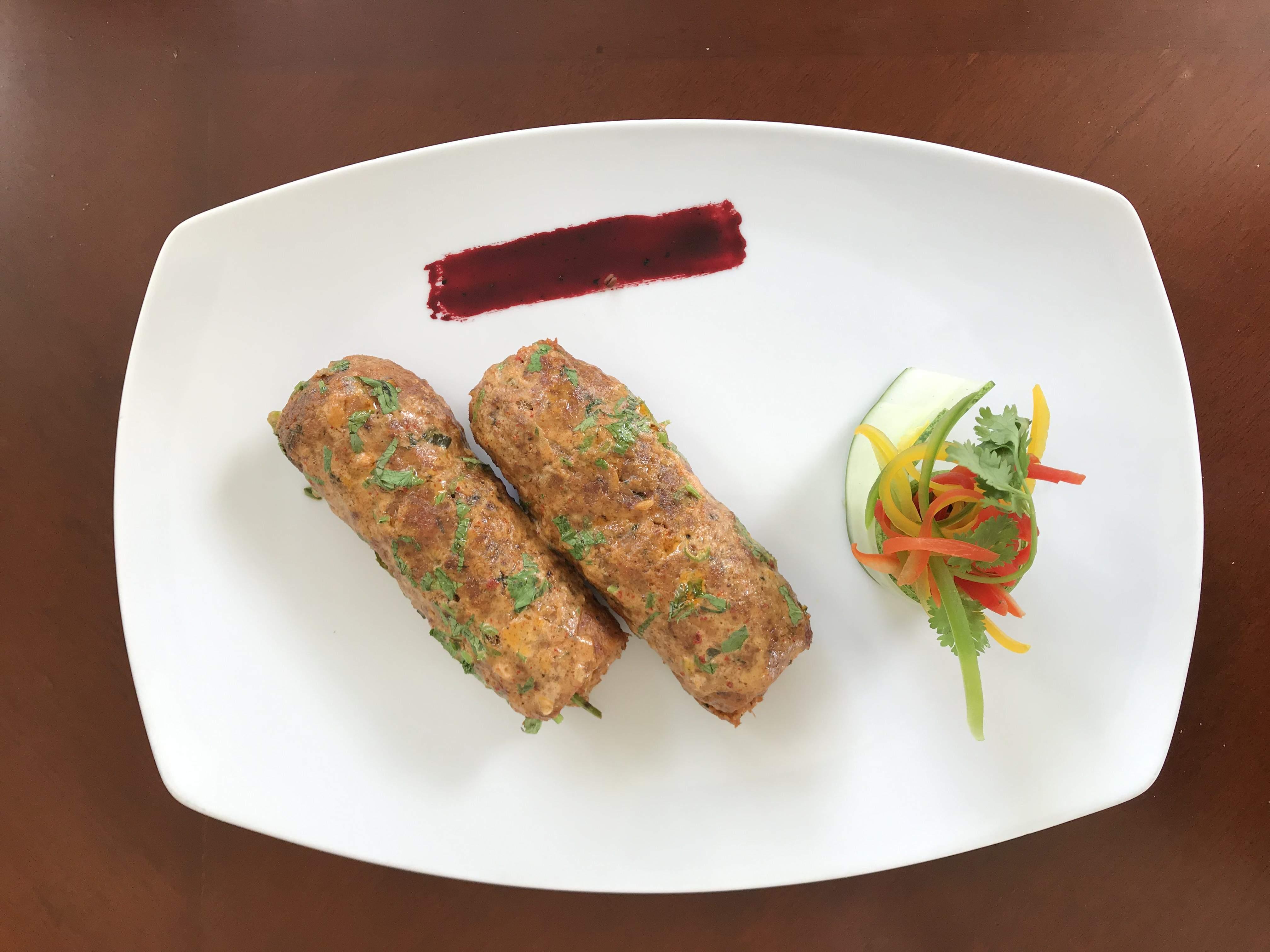 Peshawari seekh kebab