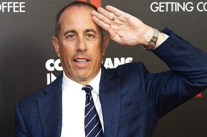 Jerry Seinfeld in Beverly Hills, Calif. (Photo by Willy Sanjuan/Invision/AP)