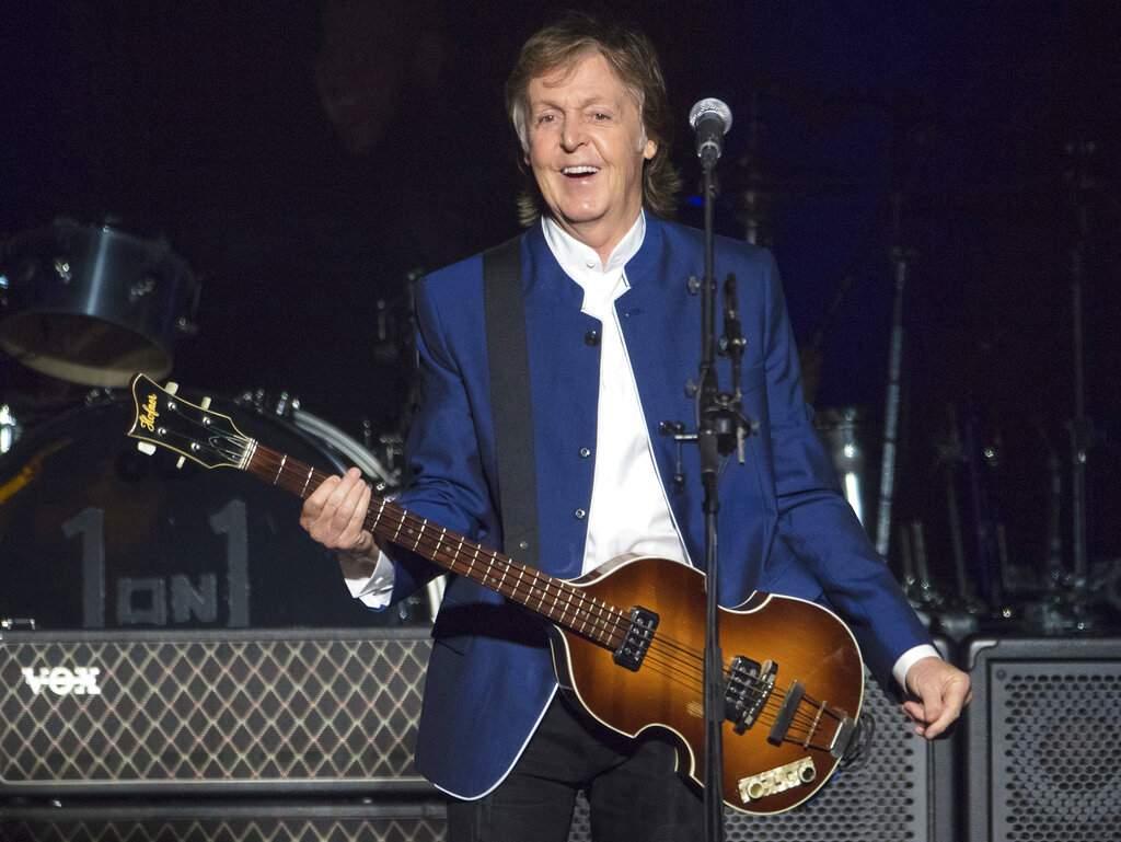 Sir Paul McCartney (AP Photo/Scott Audette, FILE)