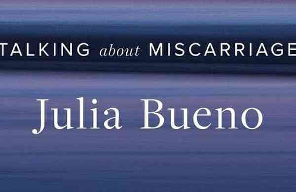 This cover image released by Penguin Books shows 'The Brink of Being: Talking About Miscarriage,' by Julia Bueno. (Penguin Books via AP)