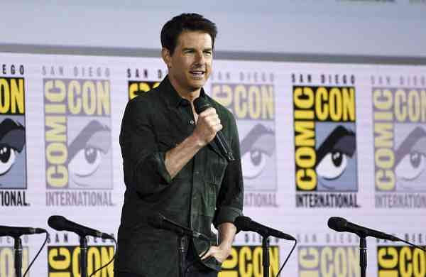 Tom Cruise at Comic-Con International, San Diego (Photo by Chris Pizzello/Invision/AP)