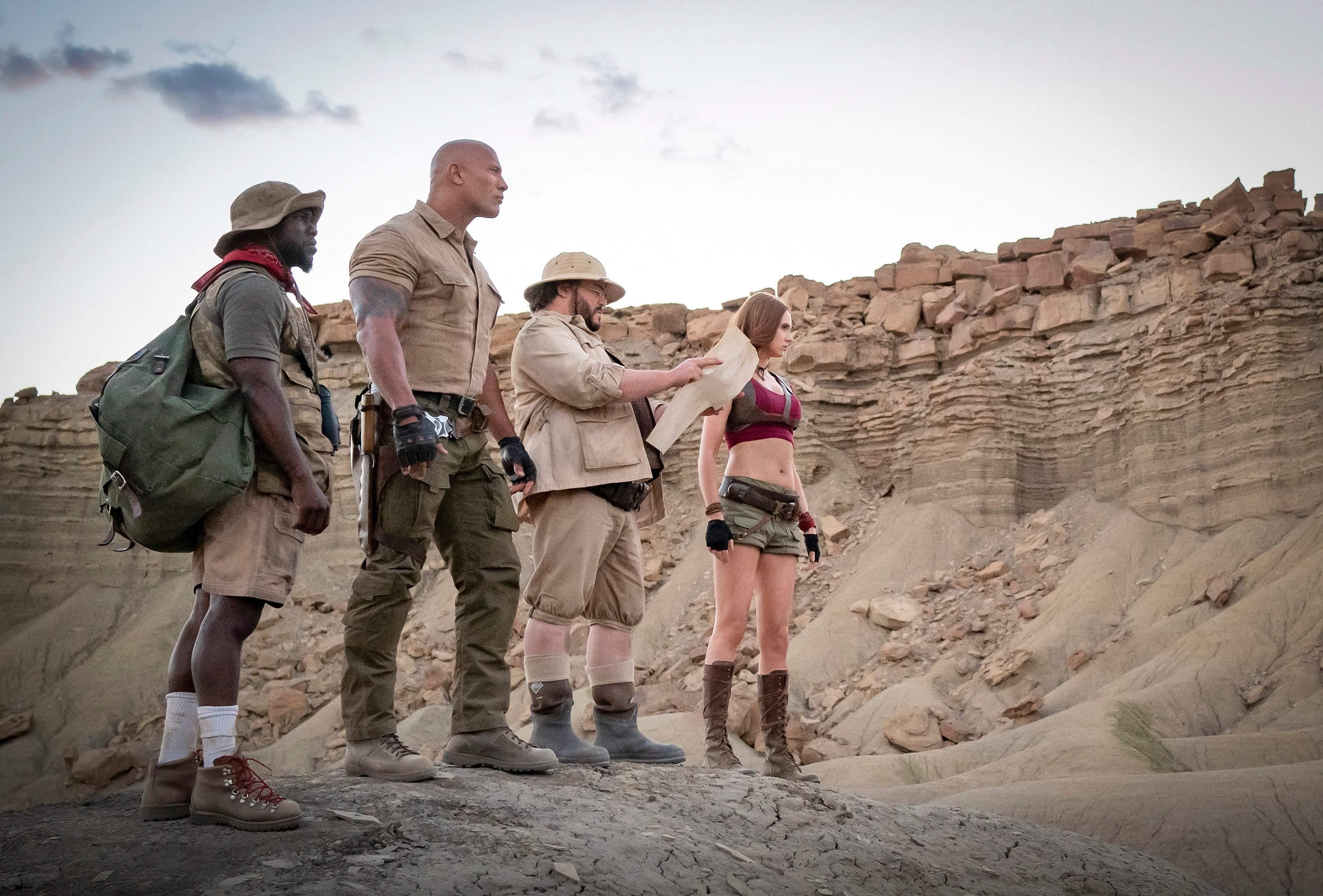 Jumanji: The Next Level trailer out!Dwayne Johnson, Karen Gillan, Kevin Hart, Jack Black return to
