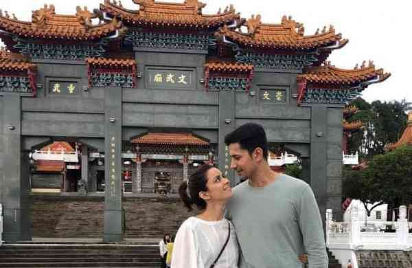 Ekta Kaul and Sumeet Vyas in Taiwan