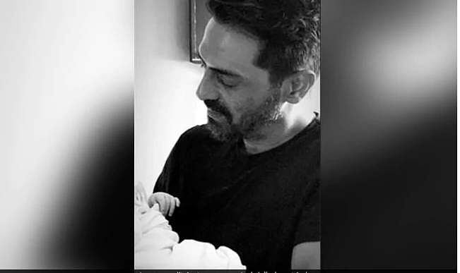 See pictures: Arjun Rampal's baby boy makes Instagram debut