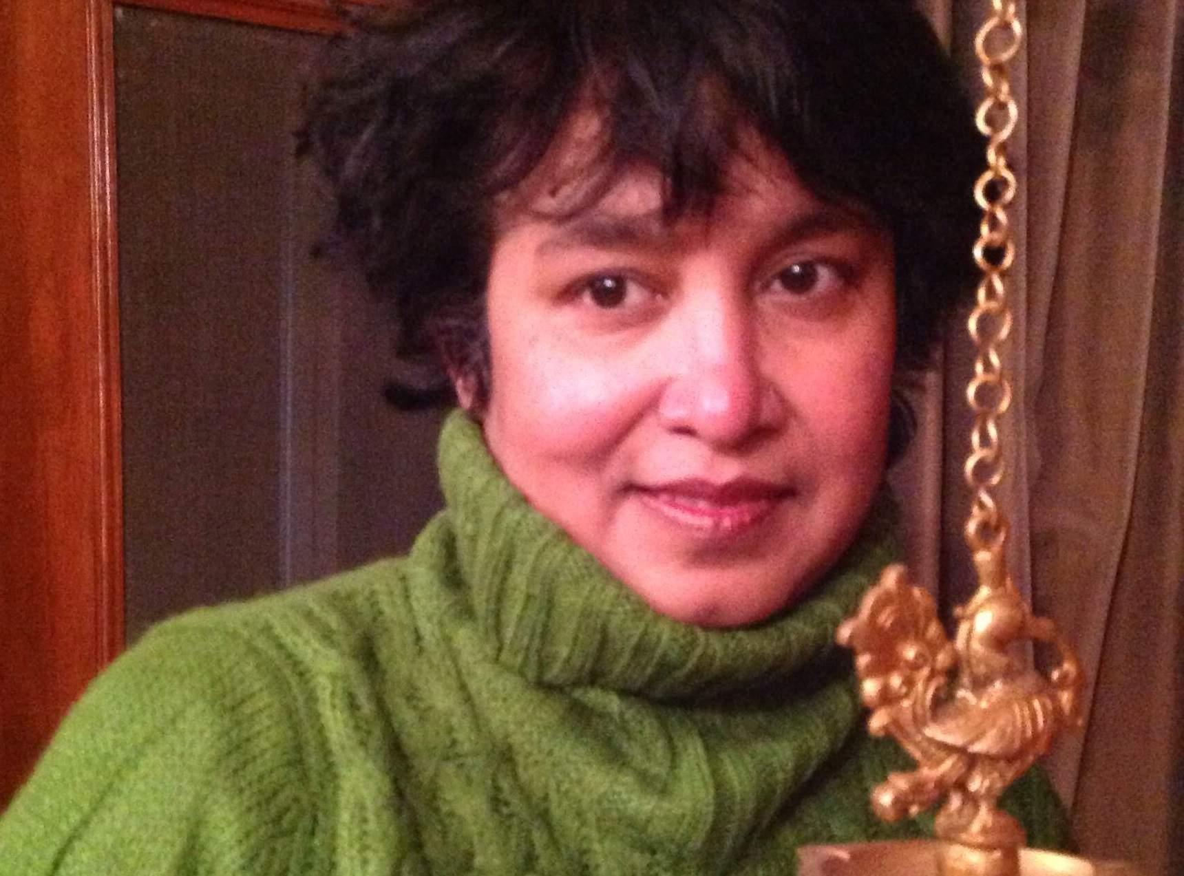 Taslima Nasreen (Source: Wikipedia)