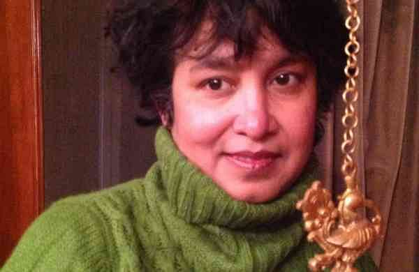 Taslima Nasreen (Source: Wikipedia)