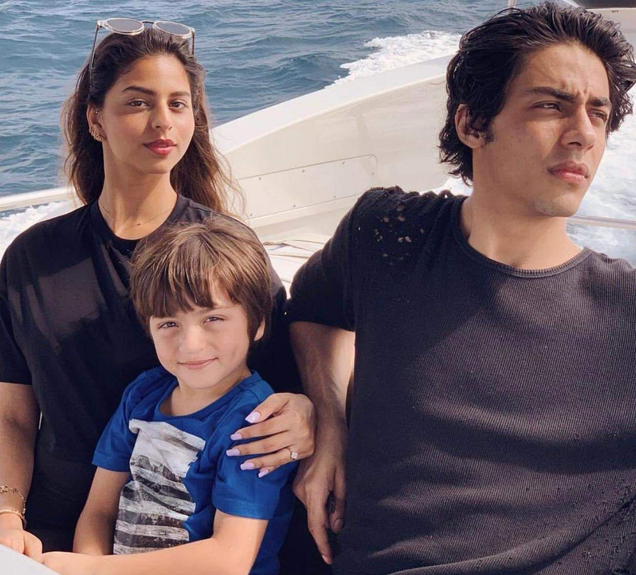 Gauri Khan shares pictures of Aryan, Suhana and AbRam from vacation in Maldives
