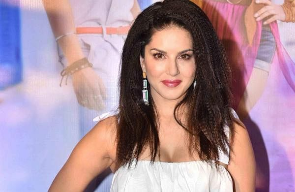 Mumbai: Actress Sunny Leone at the song launch of 'Hollywood Wale Nakhre' in Mumbai, on Feb 15, 2019. (Photo: IANS)