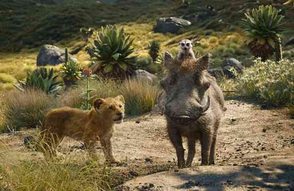 A scene from The Lion King. (Disney via AP, File)