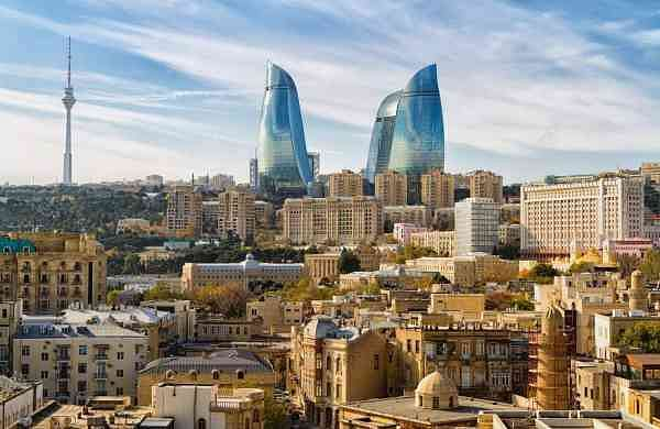 Flame Towers, Azerbaijan