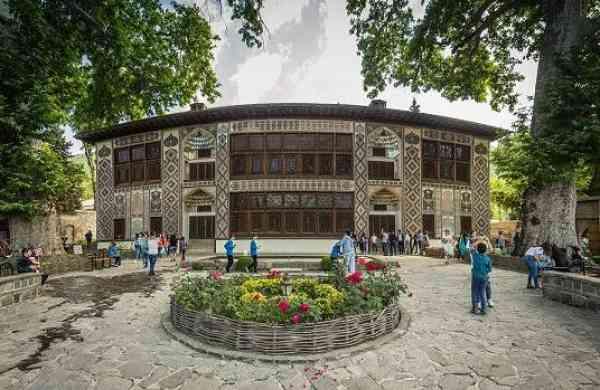 Sheki Khan's Palace, Azerbaijan