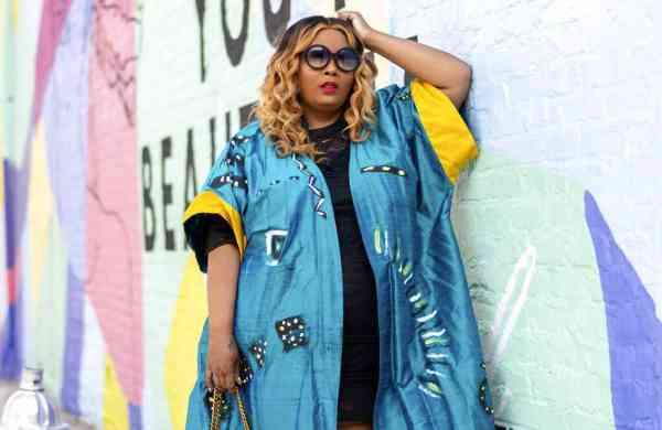 Fashion and lifestyle blogger Maui Bigelow (Kaylin Jame/Howell Designs Studio, LLC via AP)