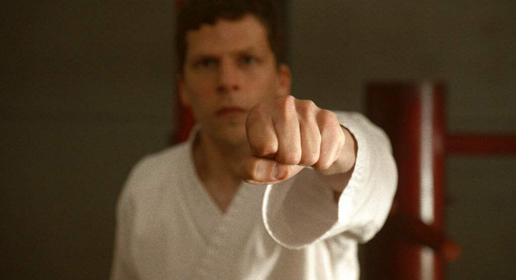 Jesse Eisenberg in The Art of Self-Defense (Bleecker Street via AP)
