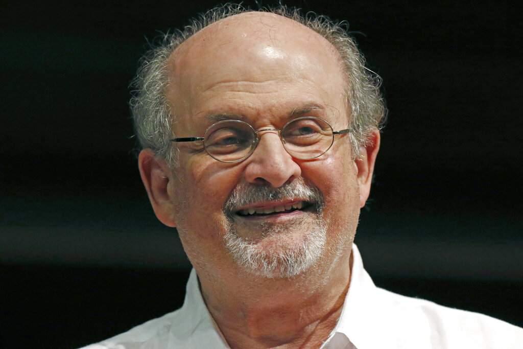 Salman Rushdie (AP Photo/Rogelio V Solis)