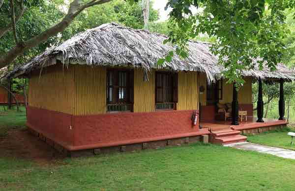 A luxury cottage at Indus Valley Ayurvedic Centre