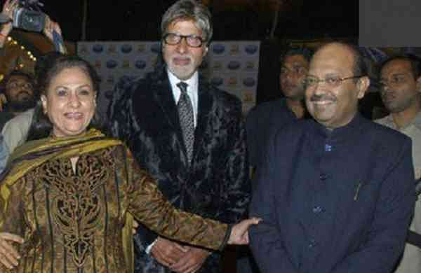 A file picture of the Bachchans and Singh