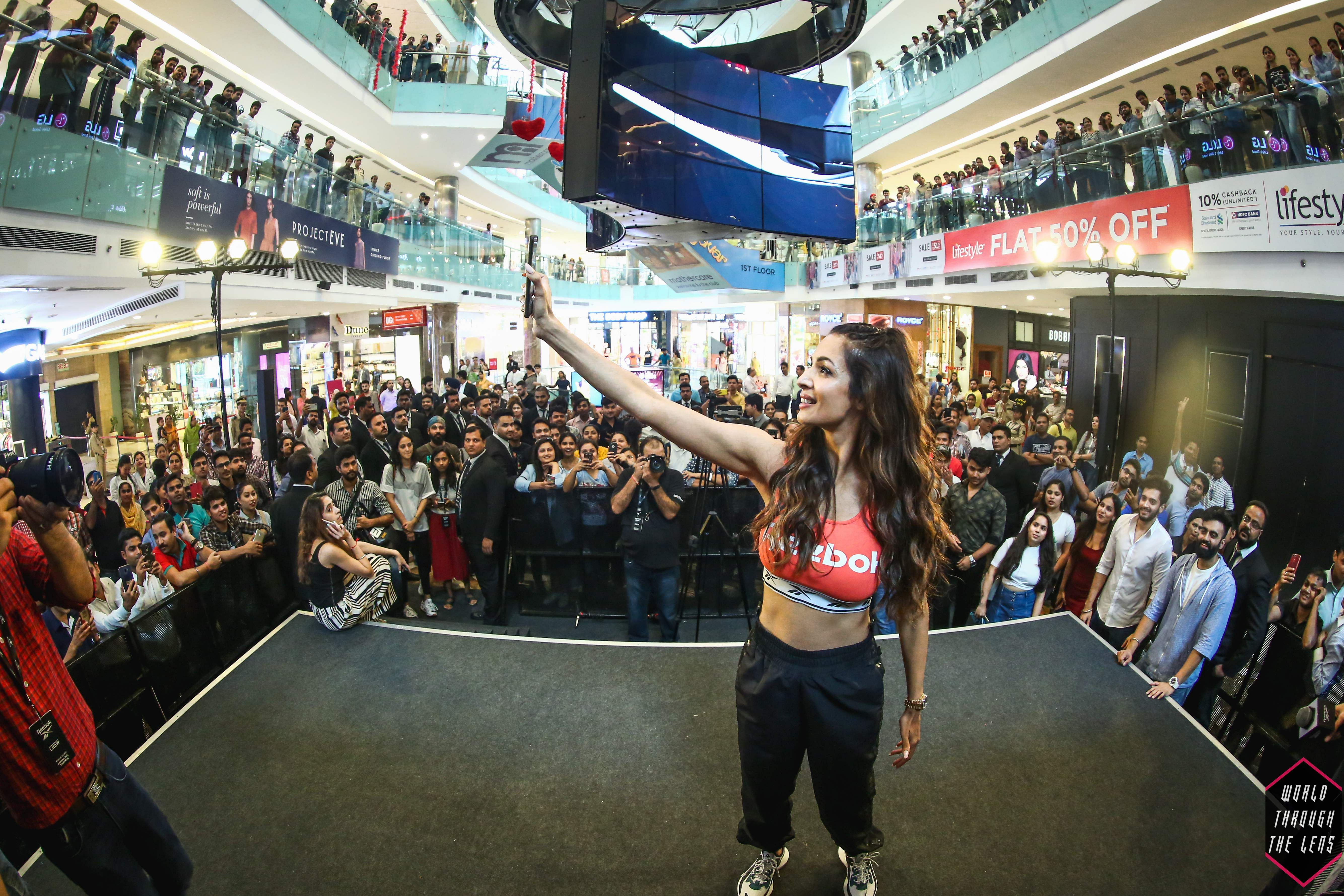 Reebok's new concept store in New Delhi 'kicks' off in style with Malaika Arora
