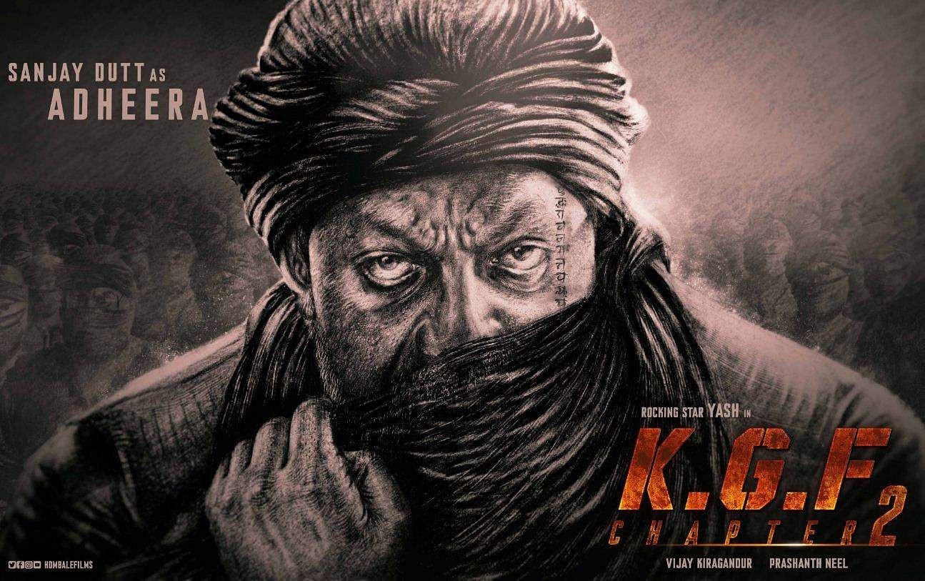 Sanjay Dutt as Adheera in KGF: Chapter 2