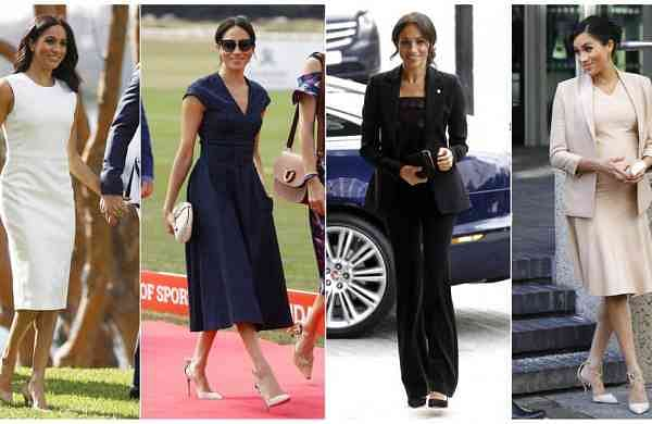 Combination photos of Meghan, Duchess of Sussex (AP Photos)