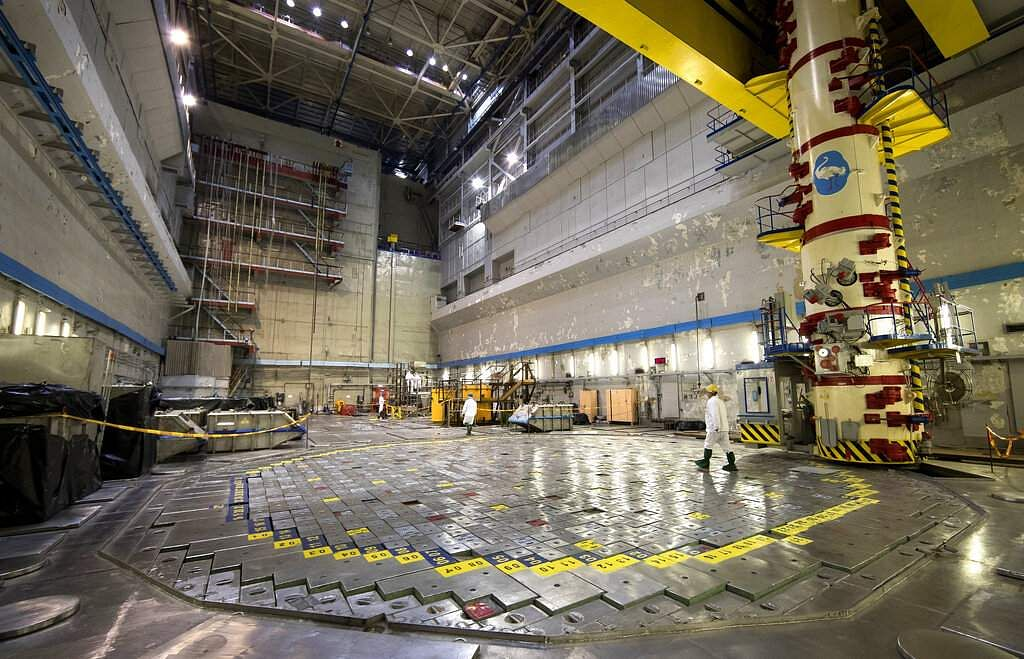 A worker at Reactor 1 of Ignalina Nuclear Power Plant in Visaginas, near Vilnius. The HBO series Chernobyl on Soviet-era nightmares is drawing tourists to Lithuania. (AP Photo/Mindaugas Kulbis)