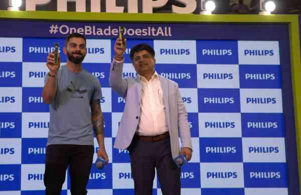 Virat Kohli launches the Philips OneBlade