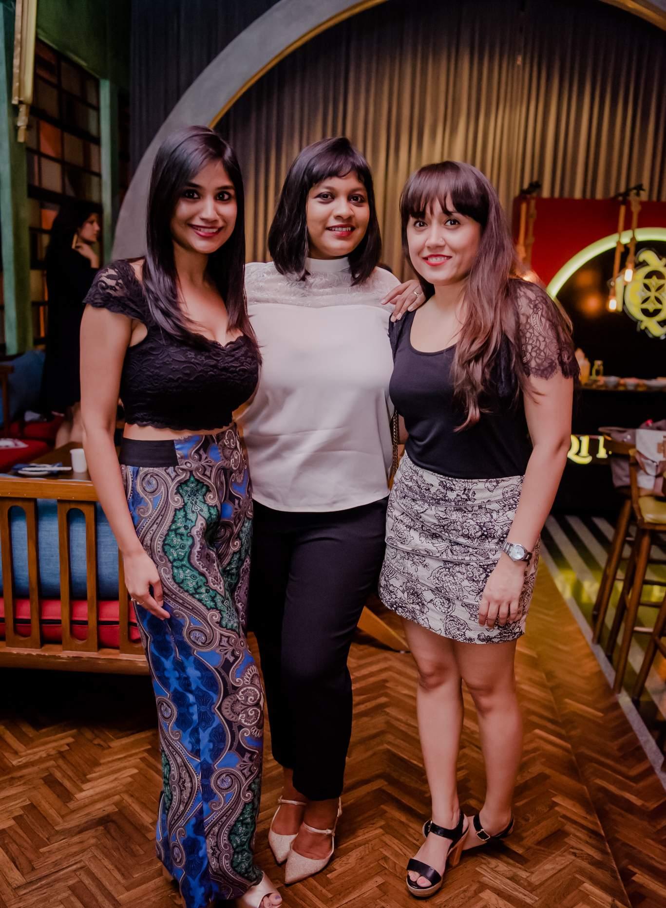 Deepti_Kat,_Rebecca_Harriot,_Sanjana