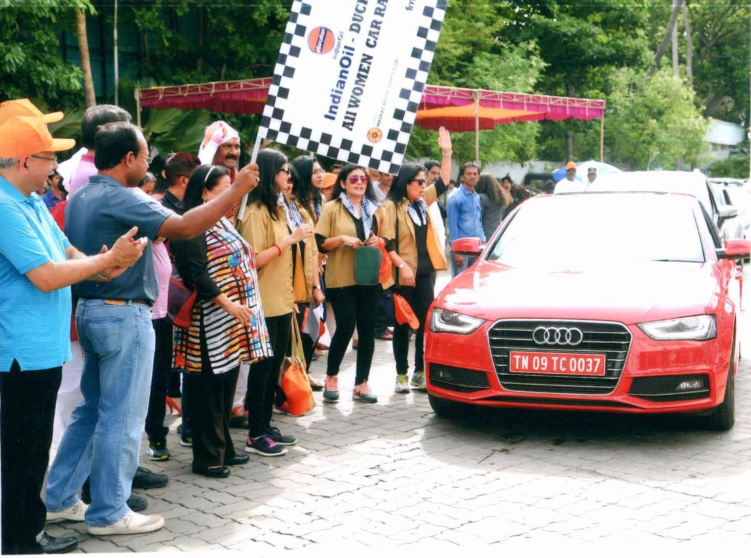 Duchess Car Rally at Savera Hotel