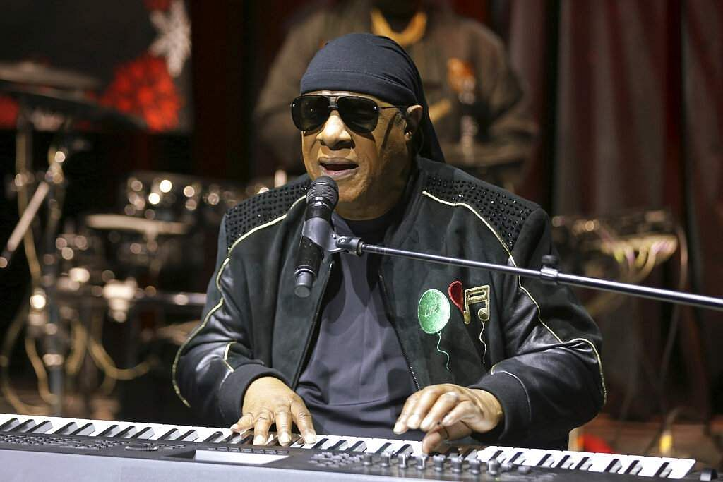2018 file photo: Stevie Wonder performs live in Los Angeles (Photo by Willy Sanjuan/Invision/AP)