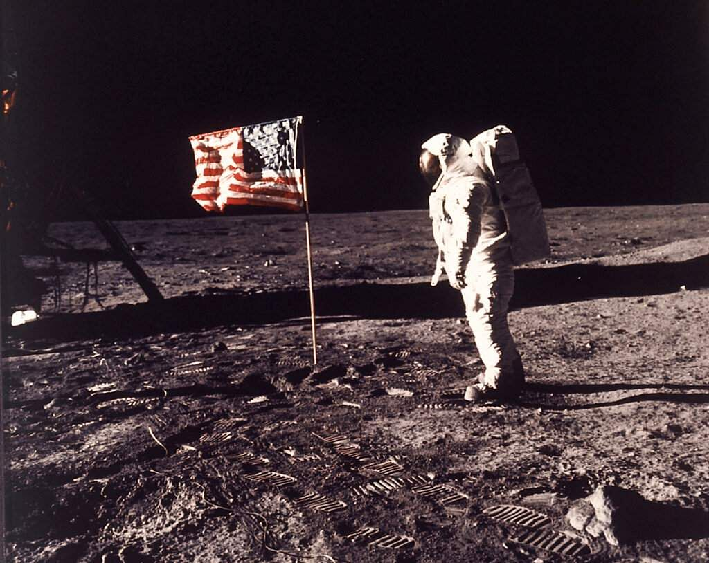 NASA image: Astronaut Buzz Aldrin on the moon (Neil A. Armstrong/NASA via AP)