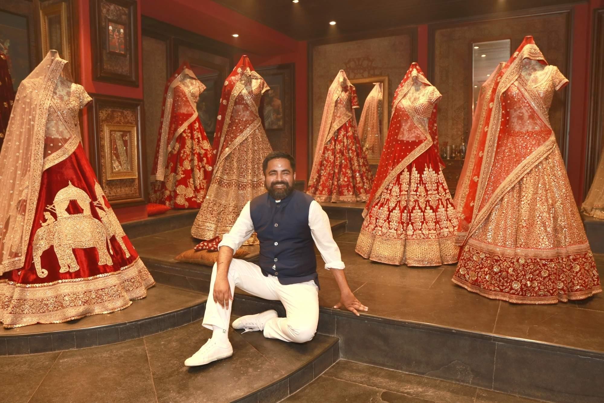 Sabyasachi Mukherjee at his flagship store in New Delhi (Photo: Amlan Paliwal/IANS)