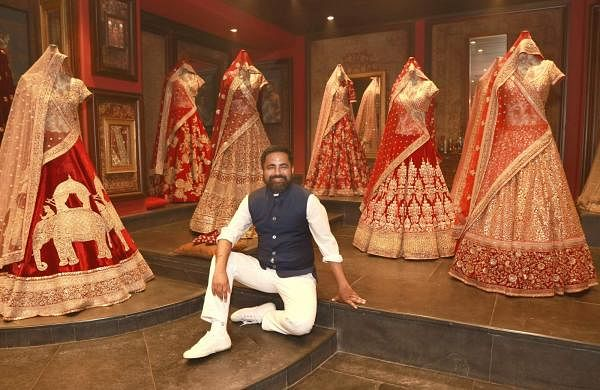 Sabyasachi Mukherjee at his flagship store in New Delhi (Photo: Amlan Paliwal/IANS)