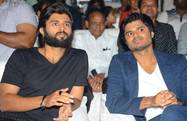 Vijay Devarakonda and Anand Devarakonda