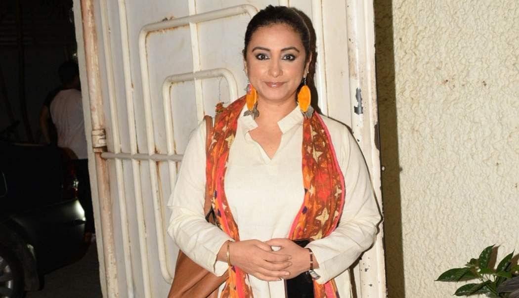 Mumbai: Actress Divya Dutta at the screening of the film 'Music Teacher' in Mumbai, on April 19, 2019. (Photo: IANS)