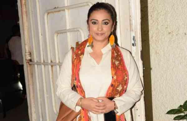 Mumbai: Actress Divya Dutta at the screening of the film 'Music Teacher' in Mumbai, on April 19, 2019. (Photo: IANS)