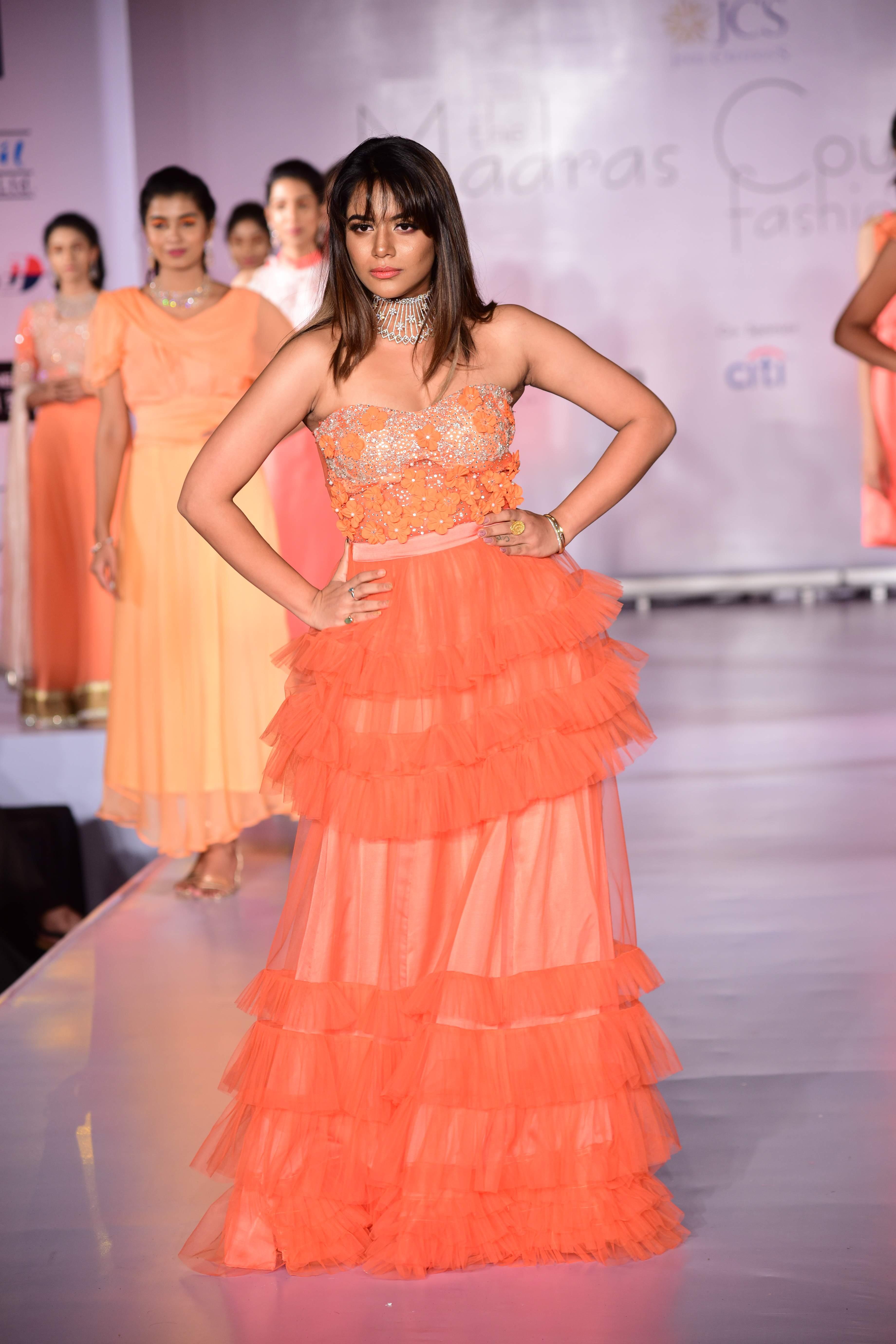 Aishwarya Dutta at The Madras Couture Fashion Week