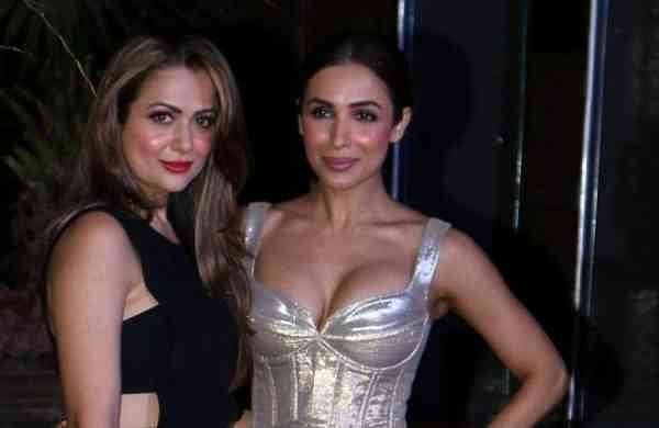 Malaika and Amrita Arora (Photo: IANS)