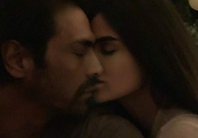 Arjun Rampal and Gabriella Demetriades (Source: Instagram)