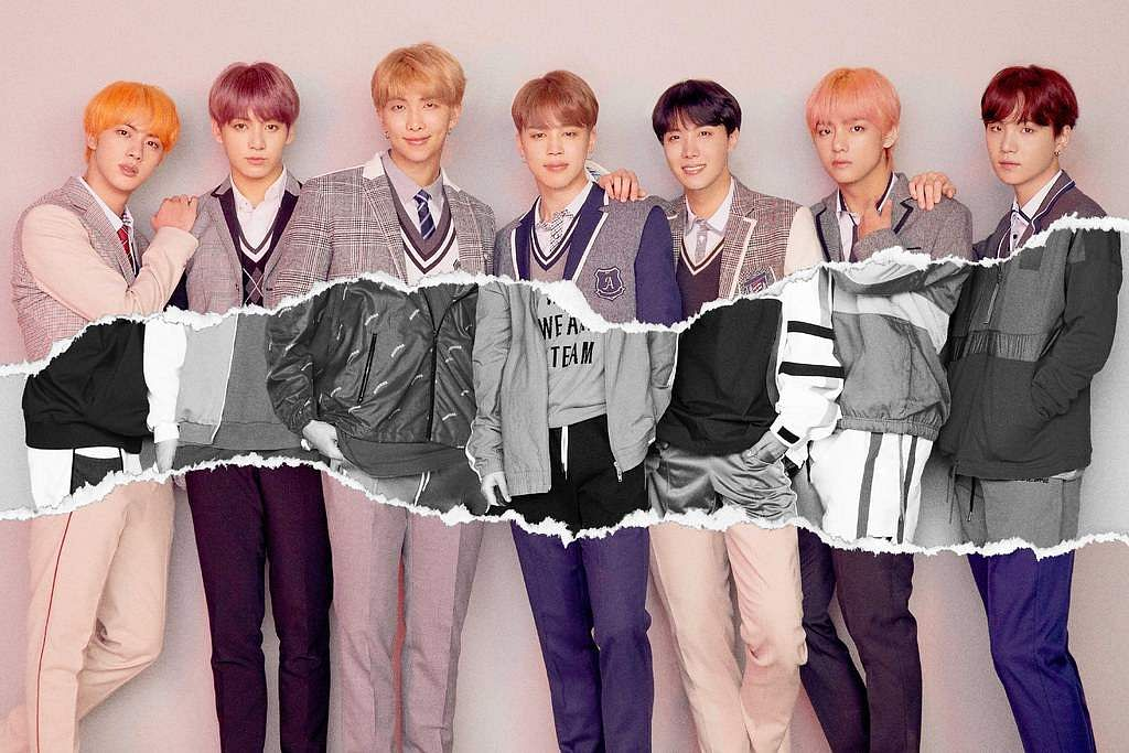 K-pop boy band BTS (Source: Internet)