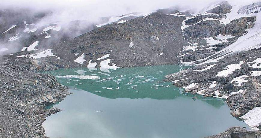 Kajin Sara lake in Manang district of Nepal (Photo: IANS)