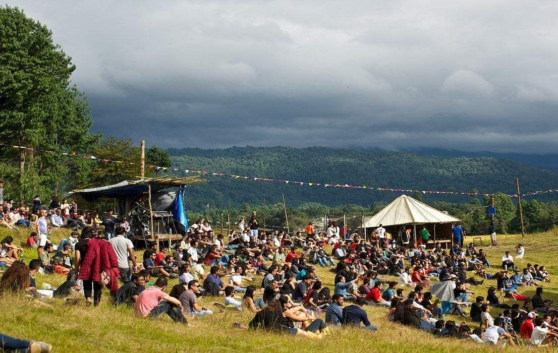 A scene from the Ziro Festival of Music (Source: Internet)