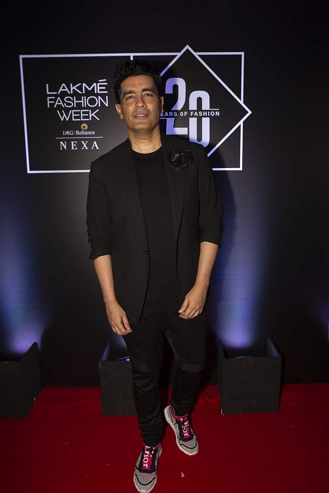 Pic_4-_Designer_Manish_Malhotra_at_Lakmé_Fashion_Week_20_years'_celebration