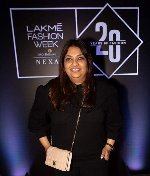 Pic_6-_Designer_Payal_Singhal_at_Lakmé_Fashion_Week_20_years'_celebration